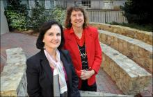 Linda Watson and Betsy Crais are professors of speech and hearing sciences